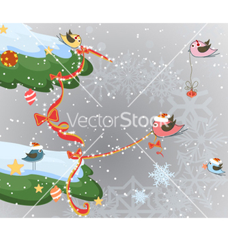 Free christmas background vector - Free vector #257359
