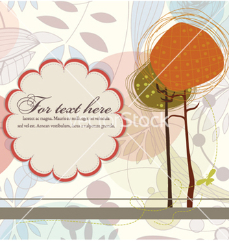 Free autumn floral background vector - Free vector #257709