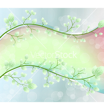 Free abstract floral background vector - Kostenloses vector #257789