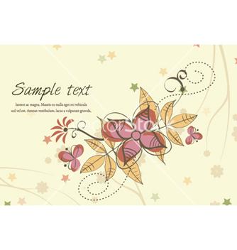Free spring floral background vector - Kostenloses vector #257799