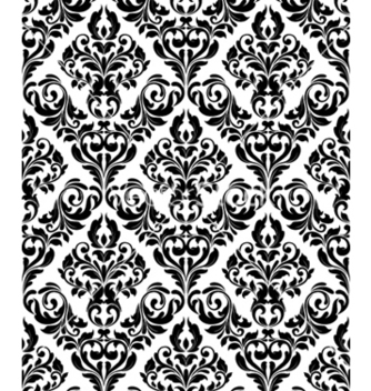 Free damask seamless pattern vector - Kostenloses vector #258109