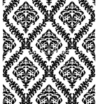 Free damask seamless pattern vector - Free vector #258269