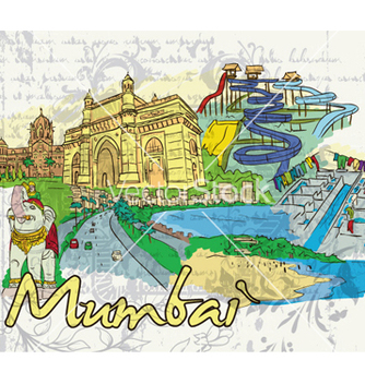 Free mumbai doodles vector - Kostenloses vector #258359