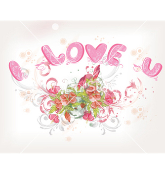 Free valentine day background vector - Kostenloses vector #259229