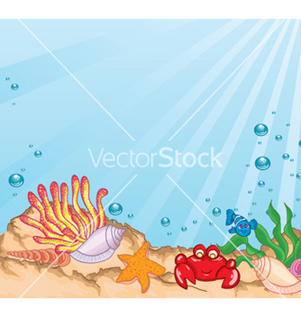 Free cartoon aquarium vector - vector gratuit #259359