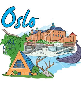 Free oslo doodles vector - бесплатный vector #259479