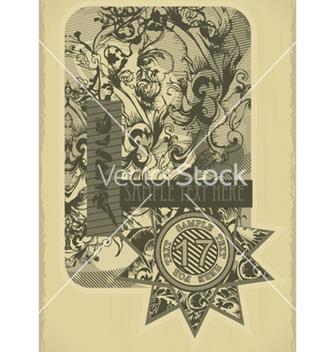 Free vintage label vector - Kostenloses vector #259579