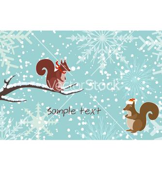 Free christmas greeting card vector - Free vector #260069