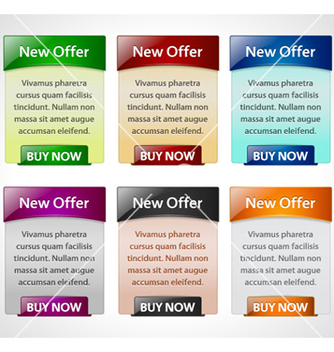 Free web banners vector - Free vector #260179