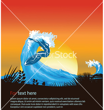 Free abstract summer background vector - Free vector #260279