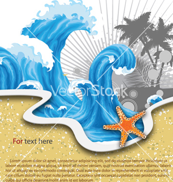 Free summer background vector - Free vector #260489
