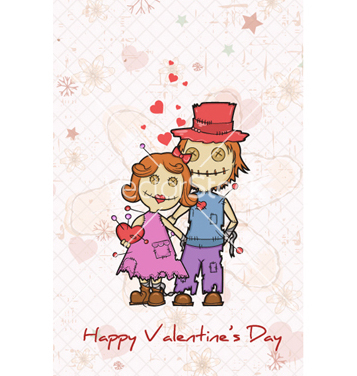 Free valentines day background vector - Free vector #260669