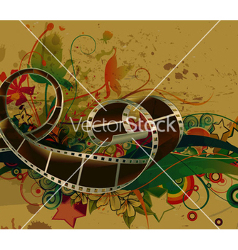 Free film strip vector - vector #260759 gratis