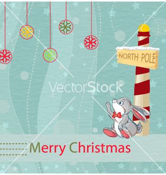 Free christmas greeting card vector - Free vector #261059
