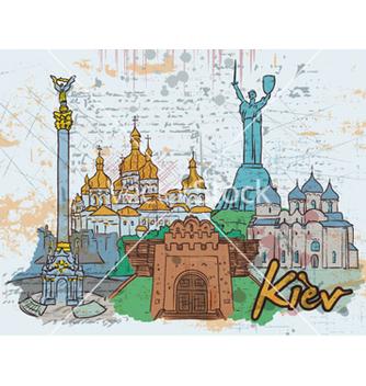 Free kiev doodles vector - vector #261569 gratis