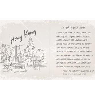 Free vintage postcard vector - бесплатный vector #261679