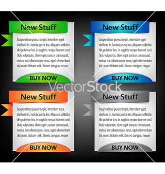 Free web banners vector - Free vector #262169