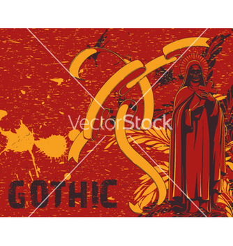 Free dark gothic background vector - Free vector #262619