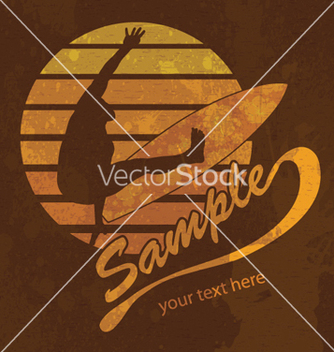 Free grunge summer vector - Kostenloses vector #262639