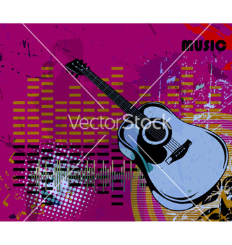 Free music background vector - vector gratuit #262839