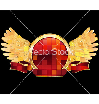Free gold label vector - Free vector #262999