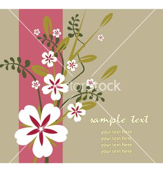 Free spring floral vector - Kostenloses vector #263309