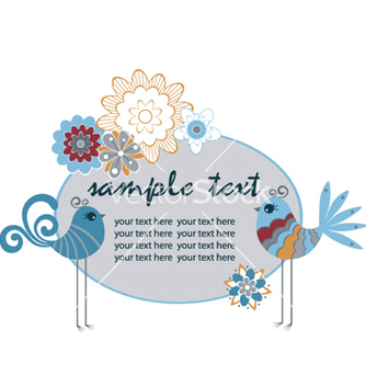 Free spring floral vector - Free vector #263319