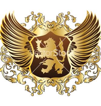 Free vintage gold emblem vector - Free vector #263489