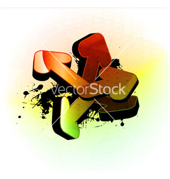 Free colorful 3d arrows vector - Kostenloses vector #263509