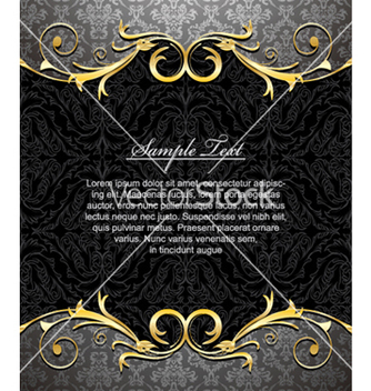 Free damask floral background vector - Free vector #264149