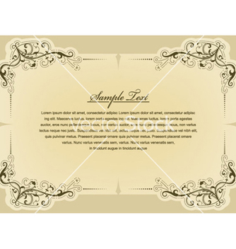 Free vintage label vector - бесплатный vector #264489