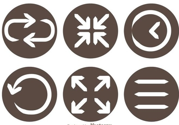Web Screen Icons - vector #264609 gratis