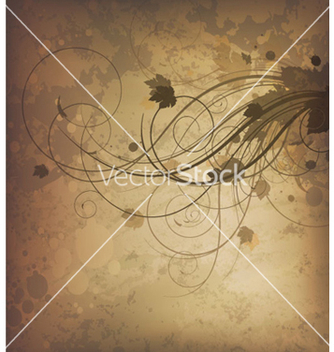 Free autumn grunge background vector - Free vector #264969