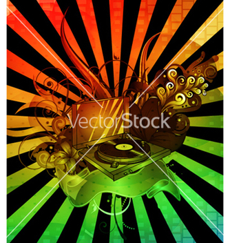 Free colorful concert poster vector - Free vector #265019