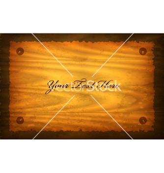 Free old paper on wood sign vector - Free vector #265109