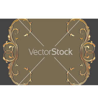 Free gold floral background vector - Free vector #265149