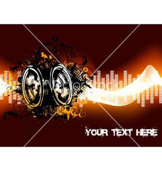 Free abstract concert poster vector - Free vector #265169