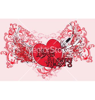 Free vintage valentine tshirt design vector - Free vector #265369