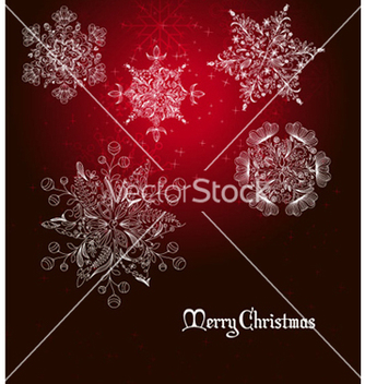Free christmas greeting card vector - Free vector #266109