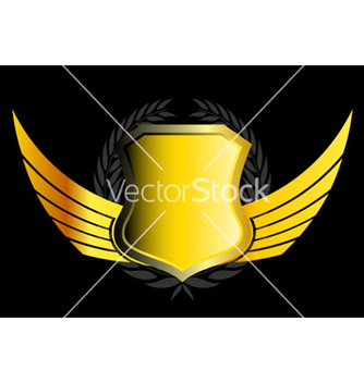 Free gold emblem vector - Free vector #266319
