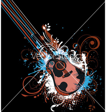 Free retro concert poster vector - Free vector #266519