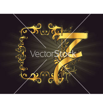 Free vintage gold frame vector - Kostenloses vector #266589