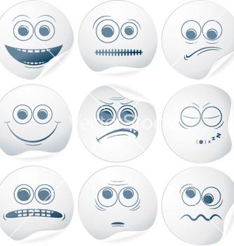 Free paper smileys vector - Free vector #266779