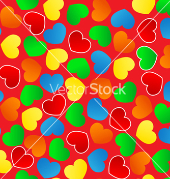 Free heart background vector - Free vector #267399