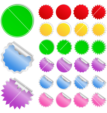 Free stickers vector - Free vector #267429