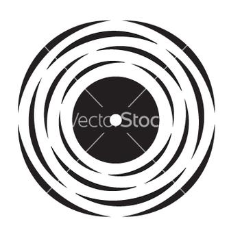 Free vinyl record logo vector - Free vector #267619