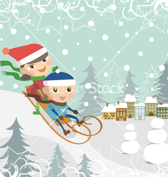 Free children vector - vector gratuit #267849
