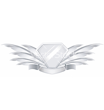 Free feather shield vector - бесплатный vector #267889