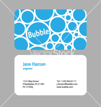 Free visit card vector - Free vector #268069