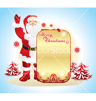 Free santa claus vector - vector #268329 gratis